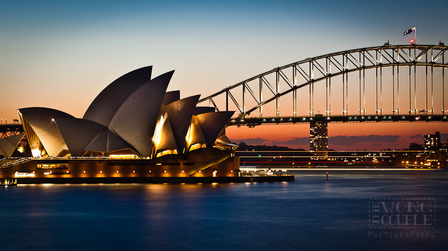 Sydney Opera House and Harbour Bridge, City Photography