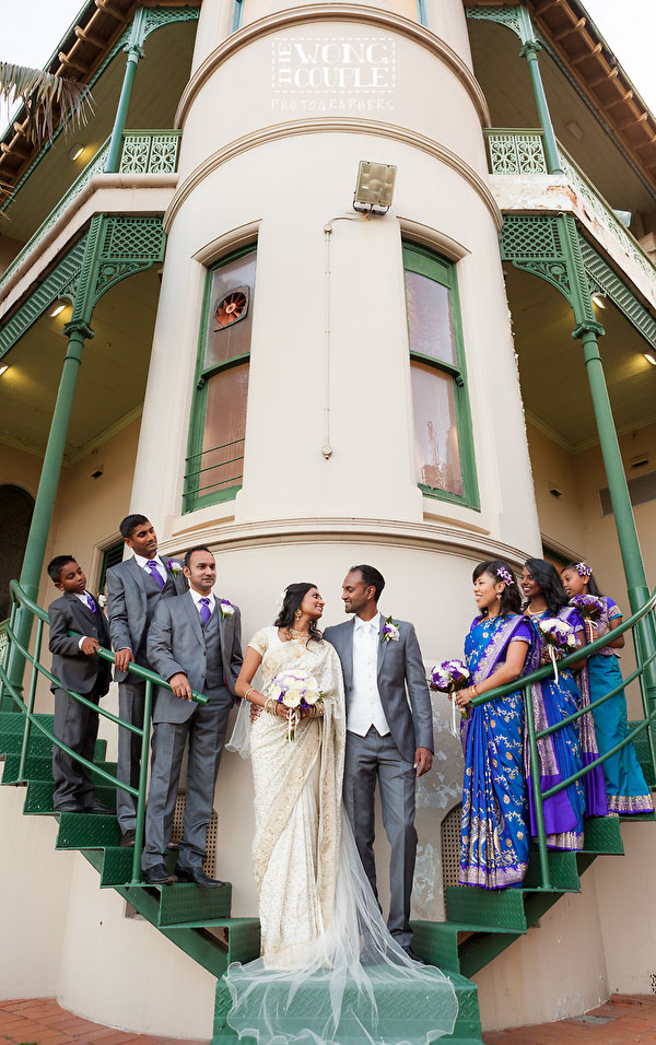 Sydney CBD hindu wedding pictures