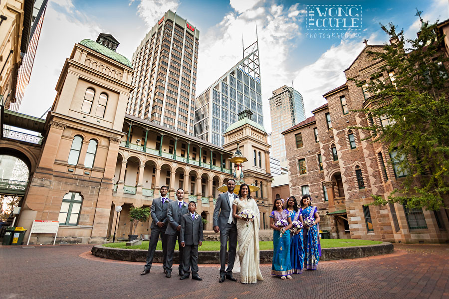 Wedding photography at historic Sydney Eye Hospital