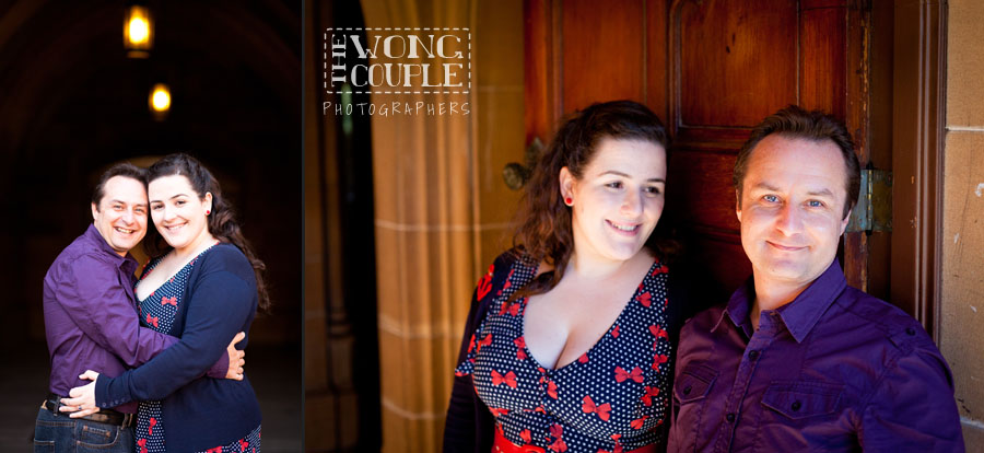 Engagement session at the University of Sydney