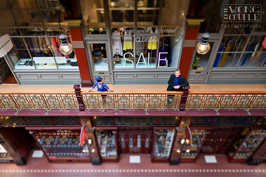 The Strand Arcade Pre-Wedding Engagement Session, Engagement and Wedding Photography