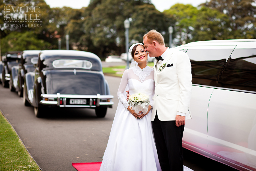 University of Sydney Wedding Portraits
