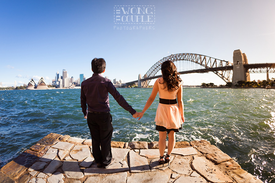 Milsons Point and Sydney Harbour Pre-Wedding Photography