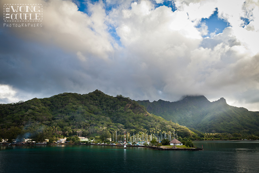 Moorea French Polynesia Landscape Photography