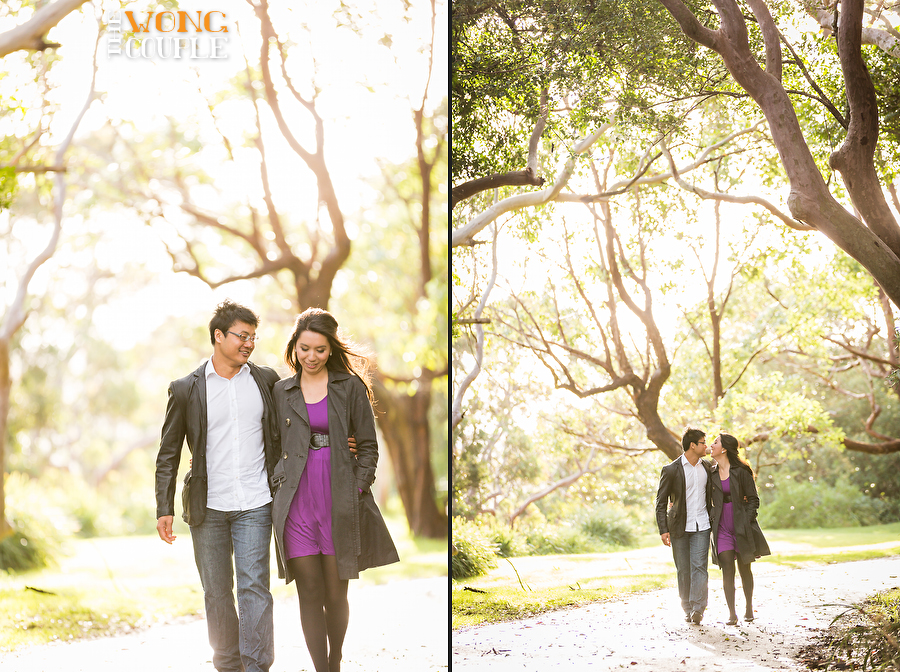 Vaucluse park engagement session, Nielsen Park engagement shoot