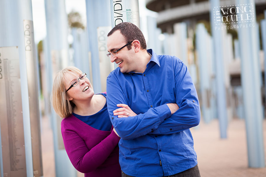 Pre-wedding photography in Sydney Olympic Park