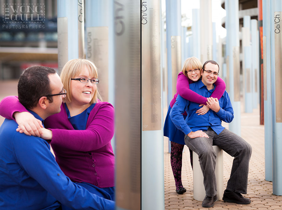 Forest of Poles, Sydney Olympic Park Engagement Session