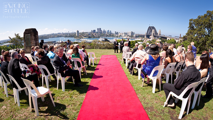 Observatory Hill Wedding Ceremony, Sydney Wedding Photographers