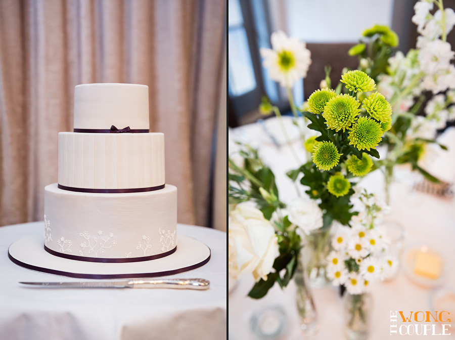 Green and white wedding at the Tea Room Mosman