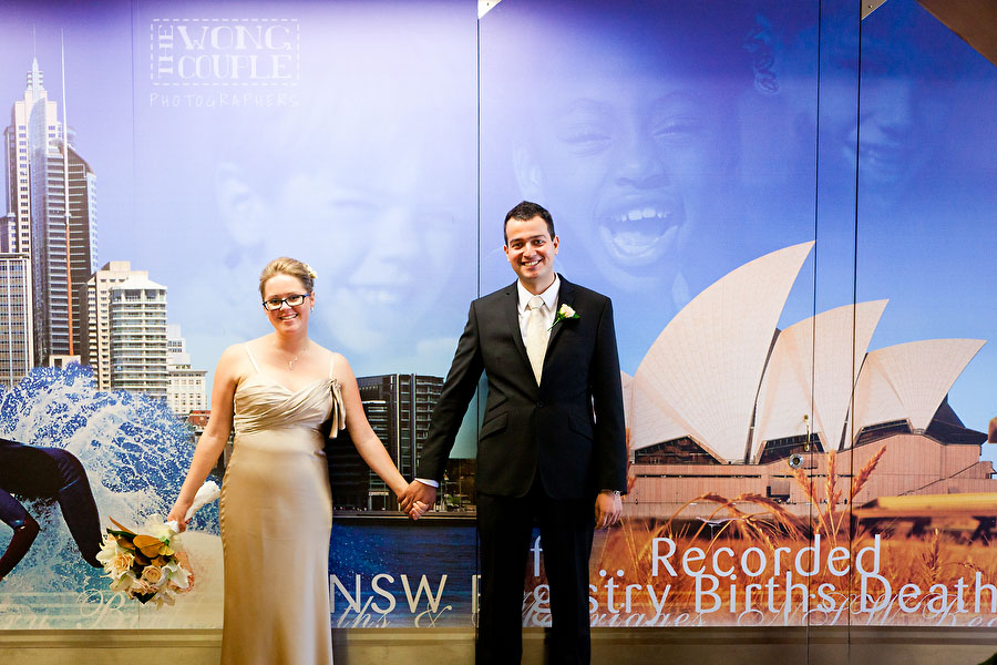 Civil Ceremony Photographers, Sydney Registry Office NSW Wedding Photography