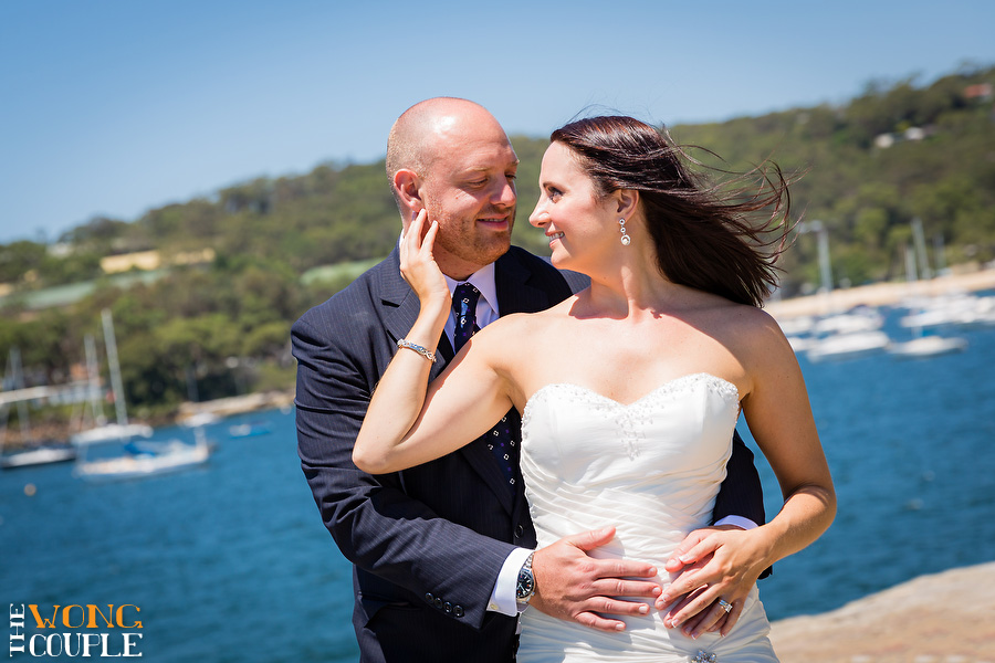 Rocky point park wedding photos Balmoral Beach Sydney