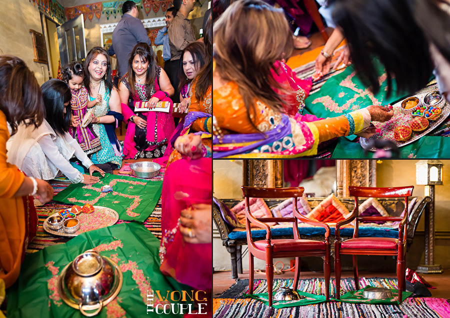 Pithi night Pakistani wedding celebration Sydney
