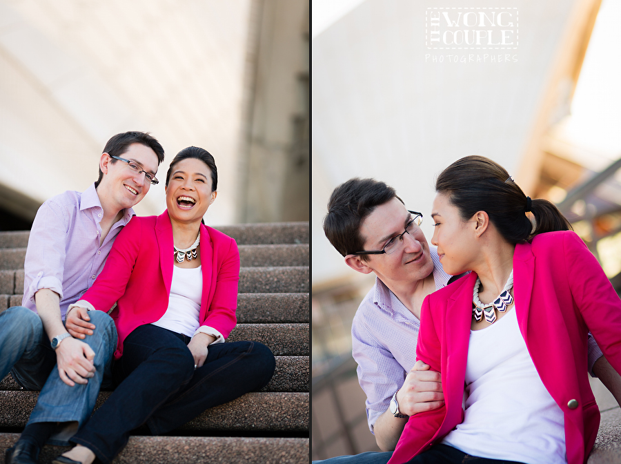 Fun and natural engagement and anniversary photography Sydney