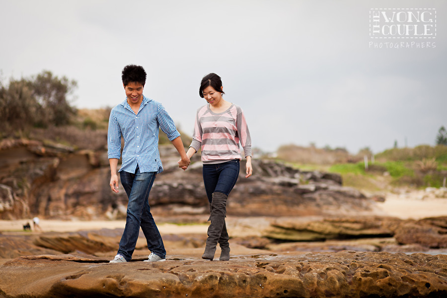 Little Bay Sydney Engagement Session, Pre-Wedding Portraits