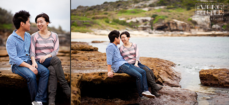 Little Bay Pre-Wedding Photos, Sydney Engagement Photography