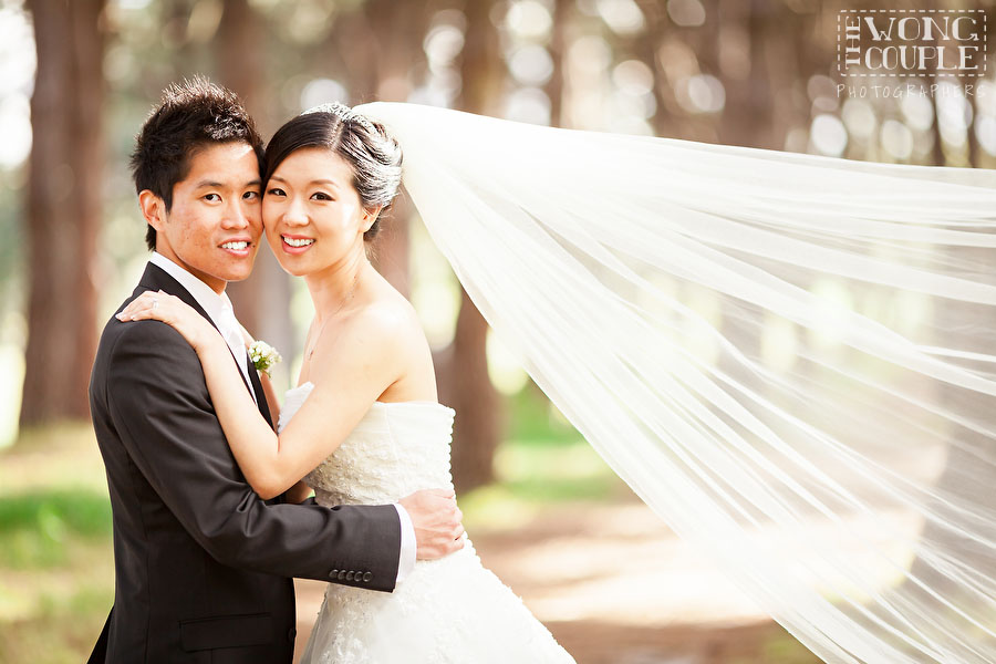 Wedding photos in Centennial Park, Sydney