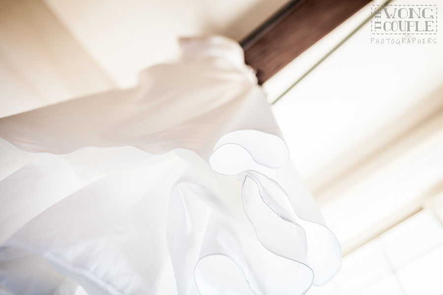 Wedding dress / bridal gown at the Blue Hotel Woolloomooloo