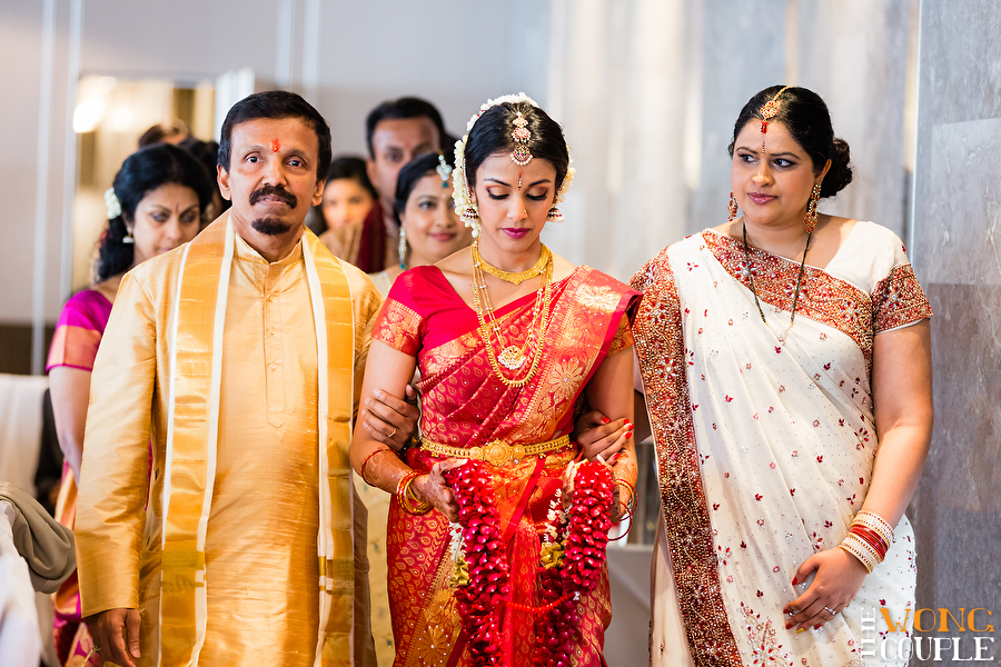 Indian Bride In Red Wedding Sari Beautiful Hindu Photography Sydney
