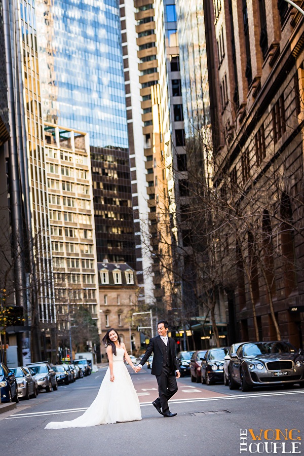 Sydney CBD wedding photos, Sydney city wedding photographers