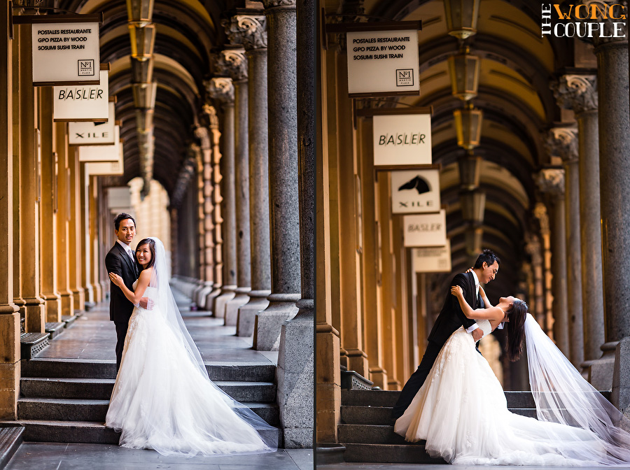 Martin Place wedding pictures, Sydney
