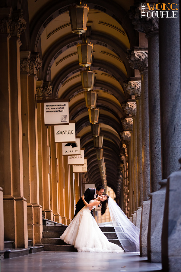 Martin Place wedding photography Sydney