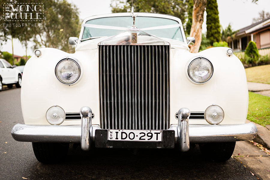 Rolls Royce wedding car, Sydney wedding photographers