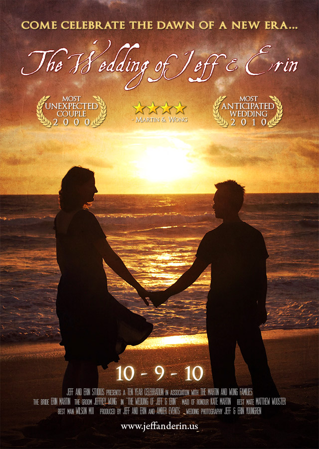 Jeff and Erins Wedding Teaser Poster