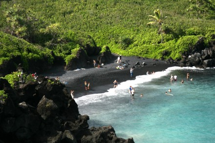 Honokalani Beach Hawaii