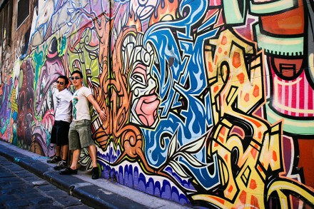Graffiti Street Art in Melbourne - Street Photography