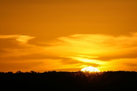 Sunset in Central Australia, Landscape Photography