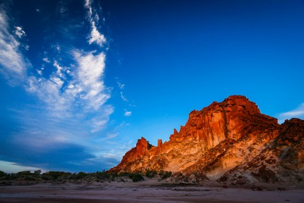 Sunset at Rainbow Valley, Central Australia - Landscape Photography