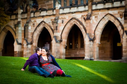 University of Sydney Pre-Wedding / Engagement Photos