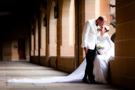 University of Sydney and Sir Stamford Hotel Wedding Photographers