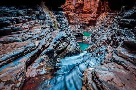Regan's Pool, Hancock Gorge, Karijini National Park, Pilbara Region, Western Australia