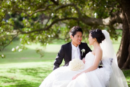 Sydney Wedding Photographers, Centennial Park Photo