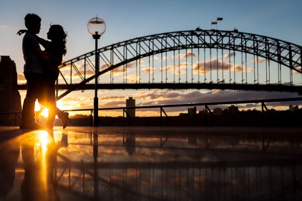 Sydney Opera House Pre-Wedding Photographers