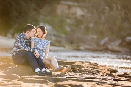 Bradleys Head Sydney harbour national park engagement photos