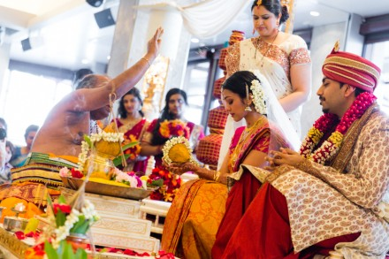 Hindu marriage ceremony, colourful and vibrant wedding photography, Indian wedding photojournalism