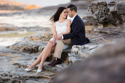 La Perouse engagement wedding photos