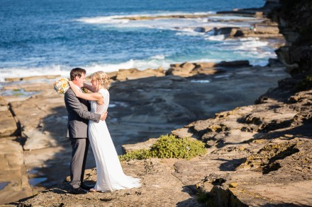 Terrigal beach wedding, NSW Central coast wedding photos