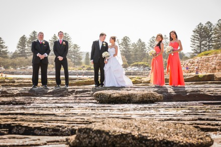 Narrabeen beach wedding photos, Sydney northern beaches wedding