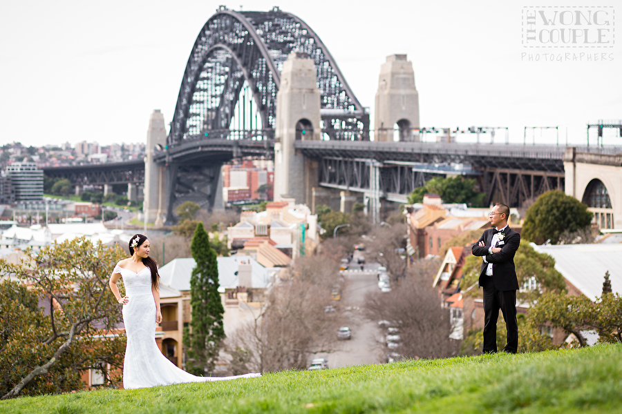 Observatory Hill And Sydney Harbour Wedding Photography